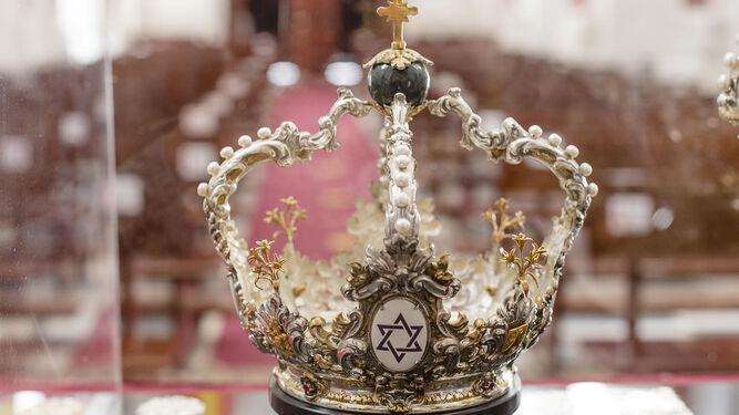 Corona de la coronación de San José de Cádiz.