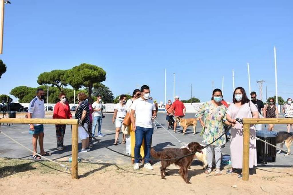 Las playas caninas onubenses colocan a la provincia en el top andaluz