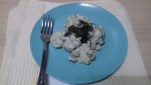 ensalada de patata y yogur