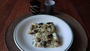 Pastel de atún, arroz y queso
