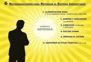 Objetivo: fortalecer defensas