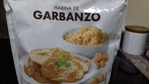 galletas de harina de garbanzos