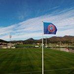 Imagen de las instalaciones futbolísticas de La Manga Club.