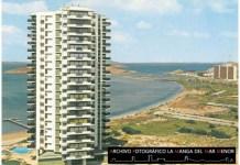 Fotografía de la Torre Mangamar o Millonarios a mediados de los 70.