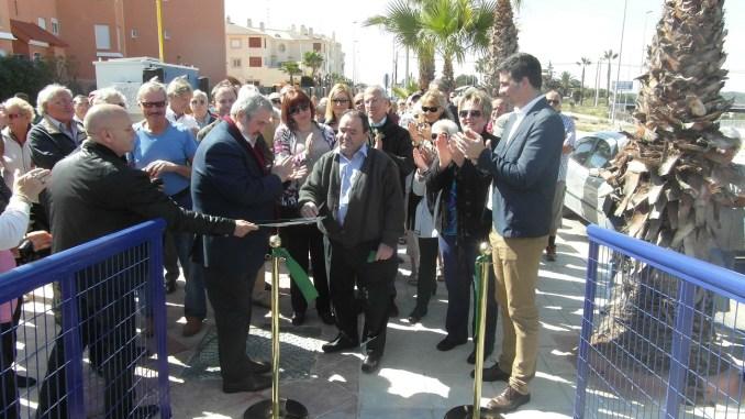 inauguración La Regia