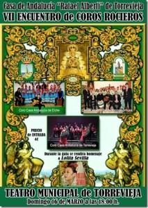 VII Encuentro de Coros Rocieros en Torrevieja