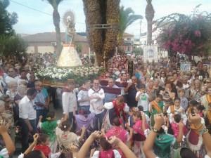 Benejúzar celebra el Año Jubilar con imágenes llegadas de varios puntos de la comarca