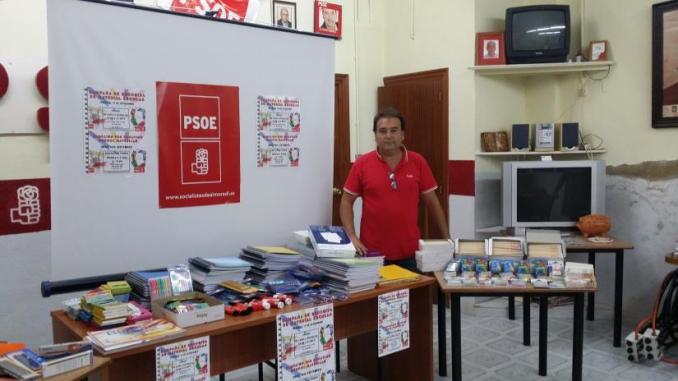 PSOE material escolar 7oct14
