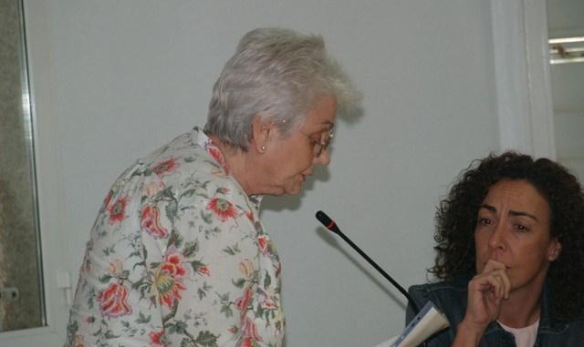 CarmenCorredera en el pleno de octubre