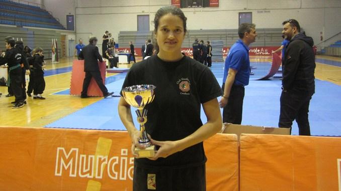 Ma José Martínez Campeona Kung Fu