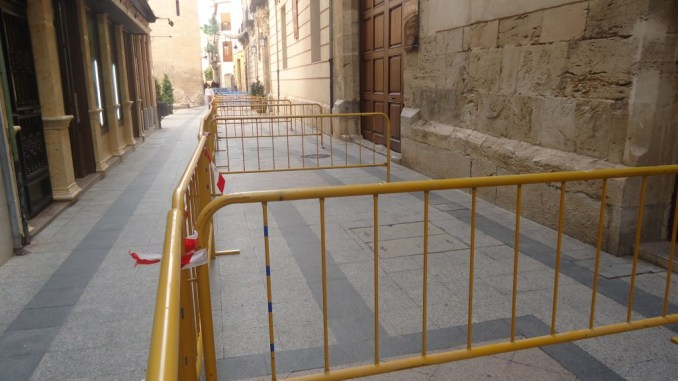 Calle Mayor desprendimientos 2