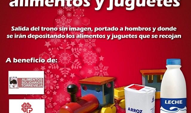 cartel recogida alimentos opti