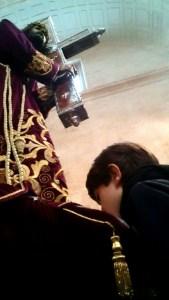 La Mayordomía recomienda evitar besar el pie a Nuestro Padre Jesús por el Coronavirus
