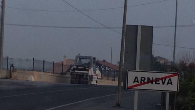 Arneva carretera Diputación