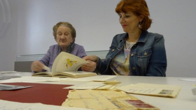 María Moreno y Rosa Martínez