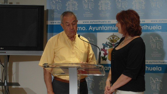 Pepe Godino con Rosa Martínez