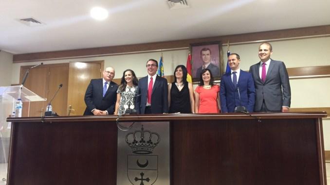 Pleno investidura Emilio Fernández