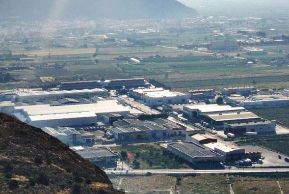 Vista aerea Poligono Industrial Puente Alto Orihuela2