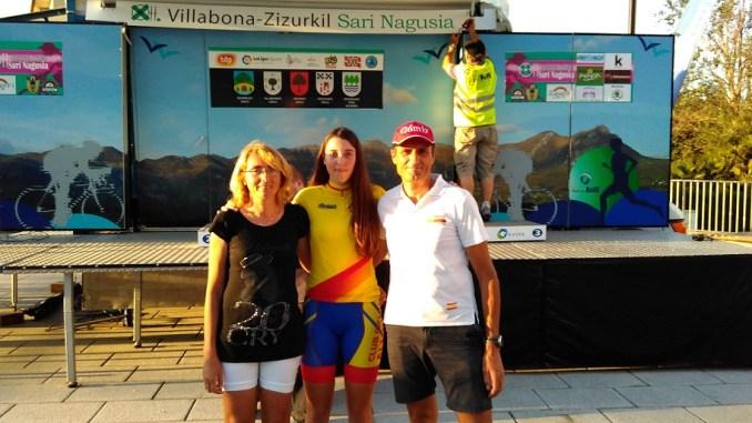 Melisa ganadora de la copa españa