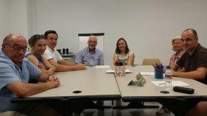 El alcalde de Torrevieja visita la sede de Adiem
