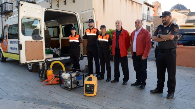 vehiculo proteccion civil