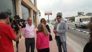 Mejoran la carretera entre Almoradí y Dolores con dos nuevos carriles ciclo-peatonales