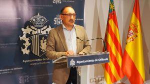 """Almagro suspende la comisión que estudia las prórrogas a Hidraqua por """"la actitud desleal"""" de Cambiemos Orihuela"""