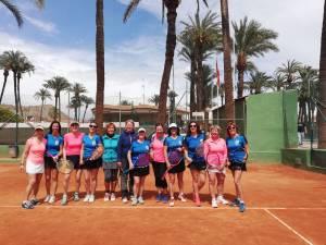 Encuentro de tenis internacional entre veteranas del Club Orcelis y del Club Thalkirchen de Münich