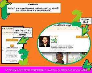 Un proyecto de ADIS Vega Baja, nominado a los Premios Inocente Inocente