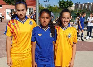 Tres jugadoras infantiles del Uryula entrenan con la Selección Valenciana