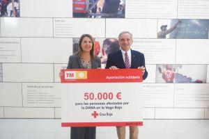 TM Grupo Inmobiliario dona 50.000 euros a Cruz Roja Española  para ayudar a los afectados por la DANA
