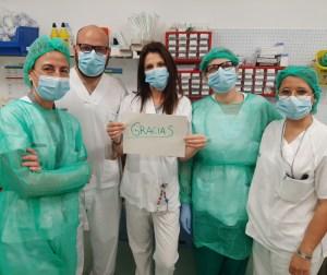 Cartas para apoyar a los pacientes ingresados en el Hospital Vega Baja