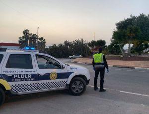La Policía Local de Dolores instruye 17 denuncias por no respetar el Estado de Alarma