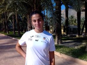Carmen Marco roza el oro en el nacional absoluto de pista cubierta