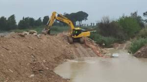 La CHS asegura que las obras del cauce del río Segura en Almoradí no suponen un riesgo para la población en caso de nuevas riadas