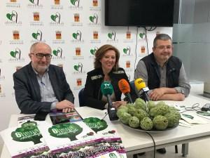"""El VI Congreso Nacional de la Alcachofa ofrece un programa con más de 25 atractivos que ensalzarán a la """"Joya de la Vega Baja"""""""