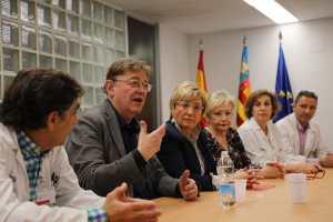 La Generalitat encarga la construción de tres hospitales de campaña
