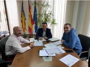 El Grupo Social ONCE ofrece su colaboración a los ciudadanos de Rafal