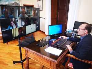 Bascuñana se reúne con la consellera de Innovación para impulsar la sede en Orihuela del Distrito Digital