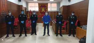 Callosa incorpora siete nuevos agentes a la Policía Local