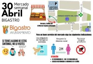 Bigastro es uno de los municipios que se estrena mañana con la apertura del mercado semanal