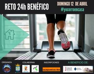 Rafal Running propone un reto deportivo virtual 24 horas cuyos fondos irán destinados al Hospital Vega Baja