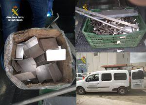 Investigan a un vecino de Albatera por el hurto de más de 15.000 euros en materiales metálicos a una empresa porcina