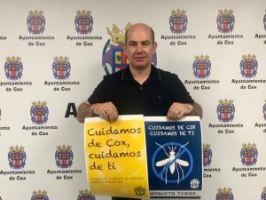 Cox inicia una campaña de fumigación de cucarachas, roedores y mosquitos trige