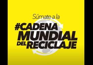 El Colegio Público de Hurchillo participa en la Cadena Internacional del Reciclaje