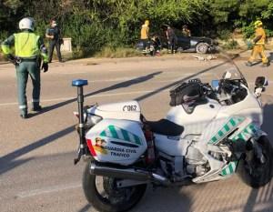 Herida grave una mujer de 25 años en un accidente de tráfico en Redován