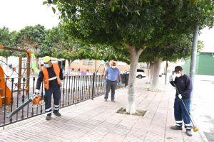 ILDO será la encargada del mantenimiento de 134 espacios verdes de Orihuela