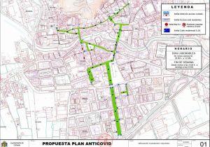 Orihuela peatonaliza desde mañana gran parte de su centro histórico con franjas horarias y durante toda la semana