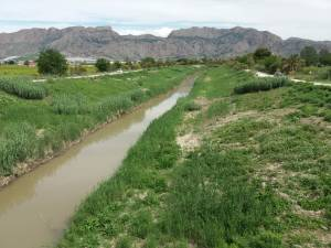 Los regantes de la Vega Baja fijan cortes de agua durante las obras de la presa de Santomera