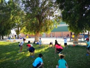 El Campus Deportivo de Verano de Bigastro a pleno rendimiento